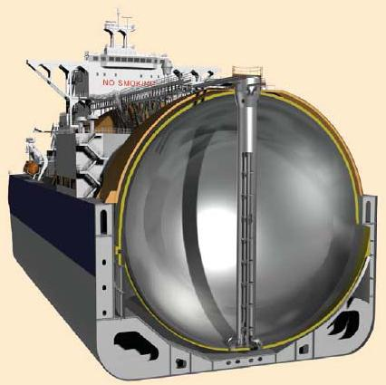 Lng Water Maritime Tanker Composite Rocket Fuel Tank