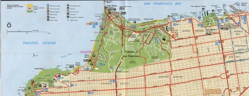 Park-Map-of-Golden-Gate-National-Recreation-Area-North-California-United-States
