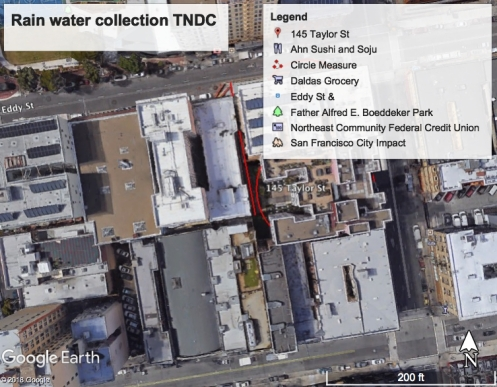 TNDC rain water collection